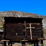 Cross on Chalet