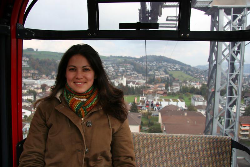 Me on the gondola.