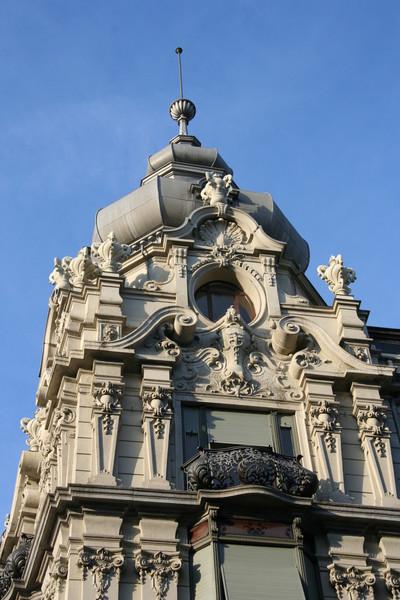 Zurich architecture.