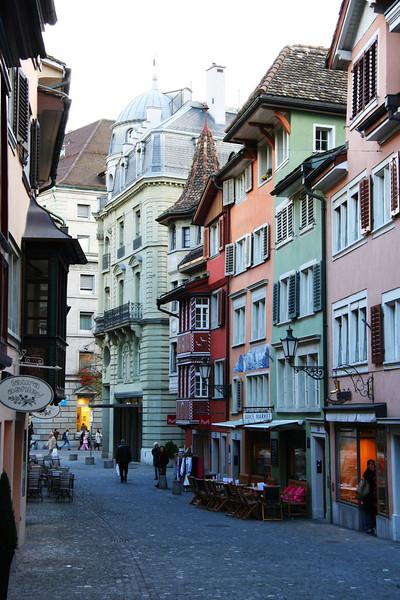 Old town Zurich.