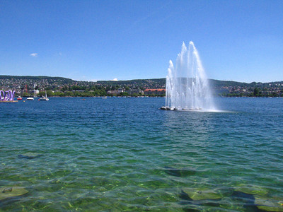 lovely day on Lake Zurich