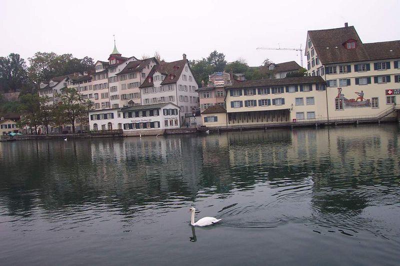Zurich on a quiet morning
