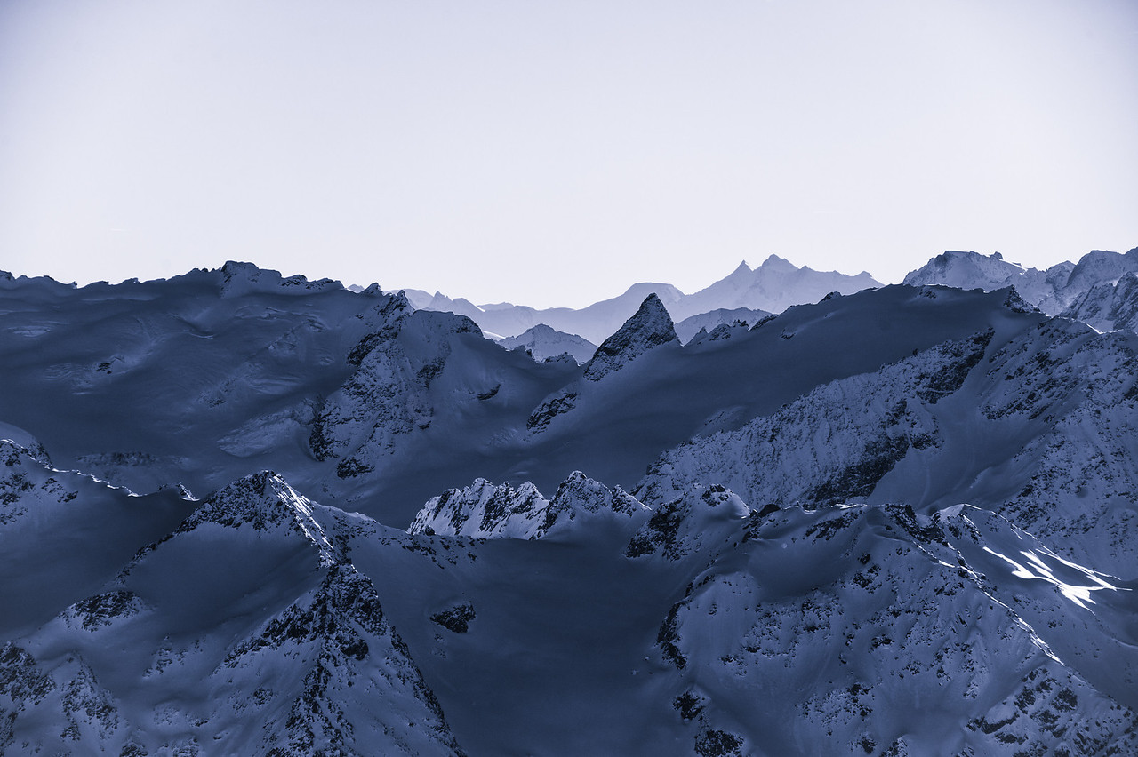 The view from Mt Titlis.