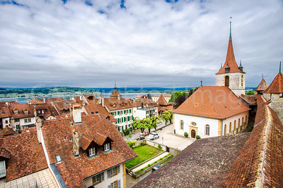 Murten from the town wall