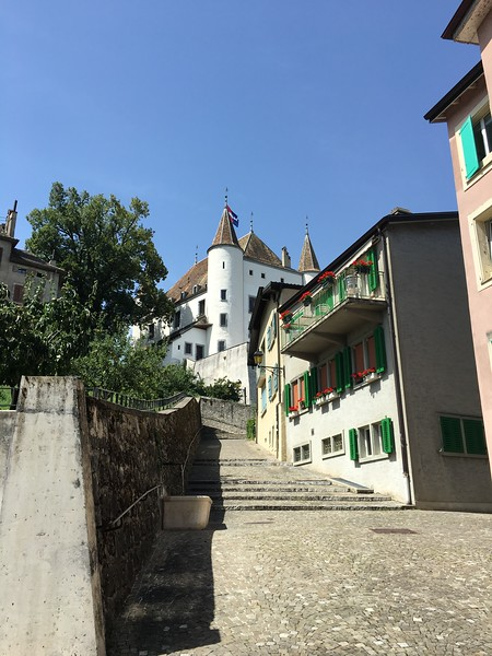 Nyon Castle and townhouse