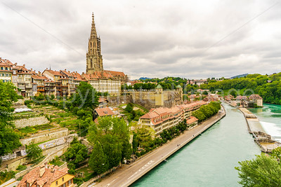 Bern on the Aare River