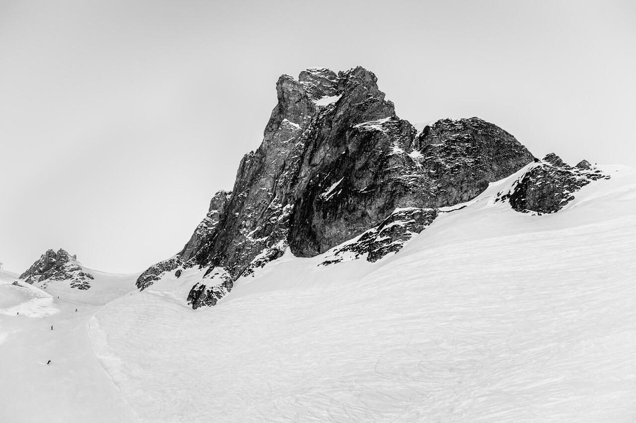 Flumserberg ski area, Switzerland. March, 2013