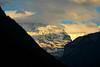 Sunset on Jungfrau