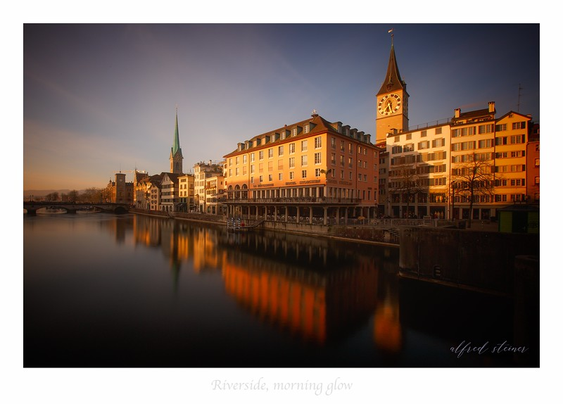 Zurich early morning...
