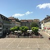 City Square, Old Town Nyon, Switzerland