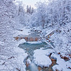 <b>Winter Waterfall (Switzerland)</b> <i>Canon EOS 5D Mark II + Canon EF 17-40mm f/4L USM</i>