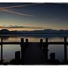 sunrise at lake pfäffikon