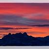 morning glow swiss alps