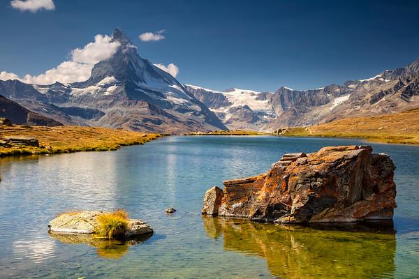 Swiss Alps.