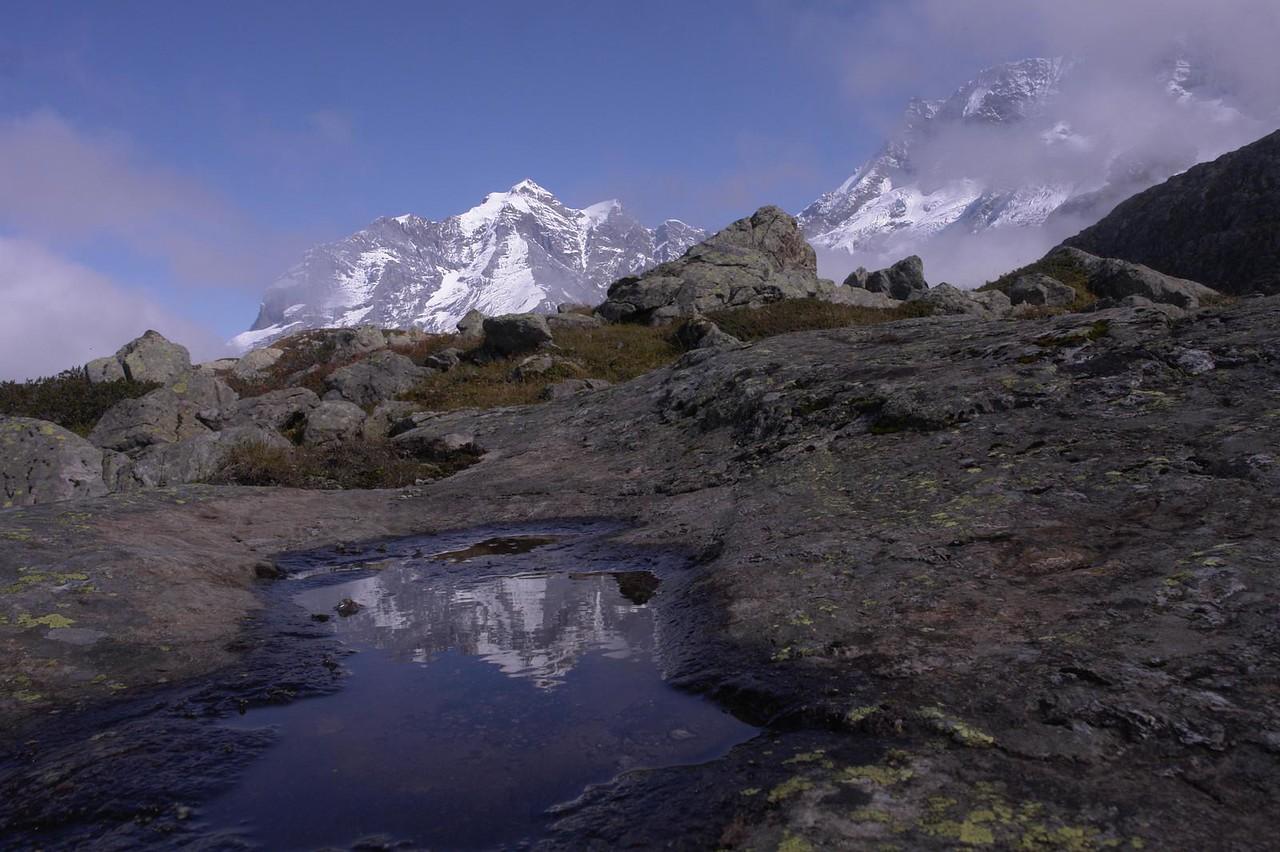Mountain Reflection by Alan Clay Knapp