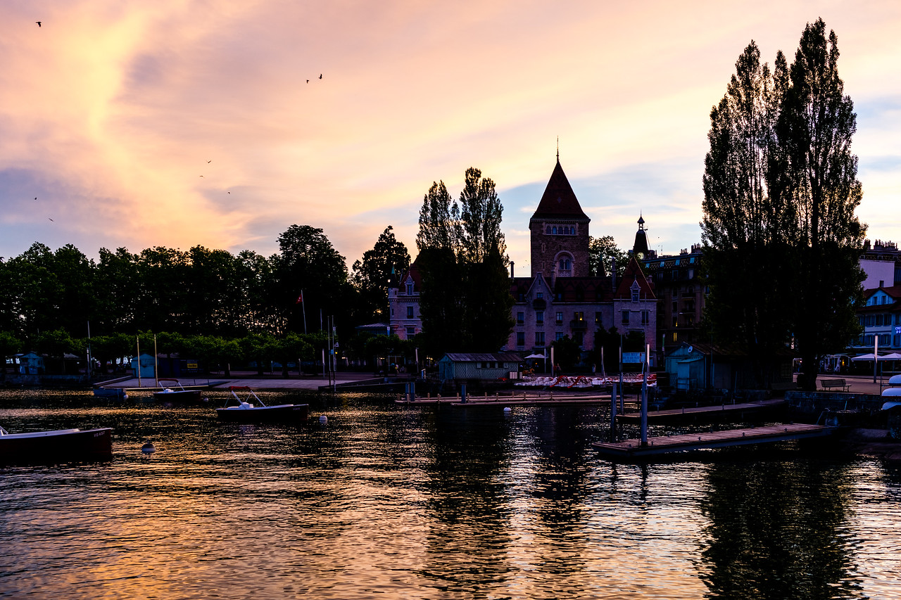 Lausanne, Lake Geneva, Switzerland, Europe