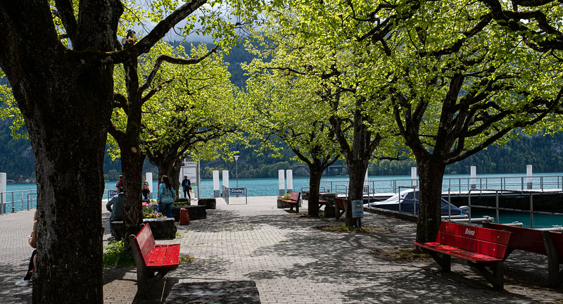 Ferry dock at Brienz