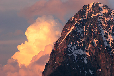 Sunset, Dent Blanche