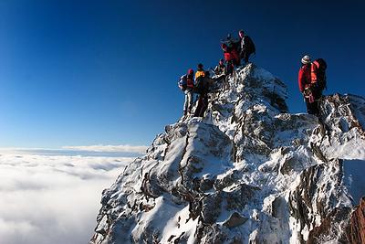 Apline summit, Nadelhorn