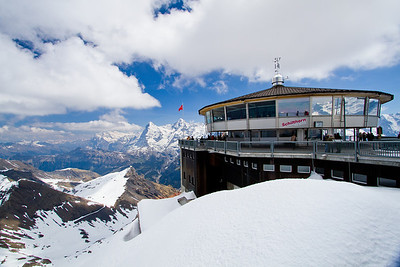 Piz Gloria Schilthorn summit Switzerland
