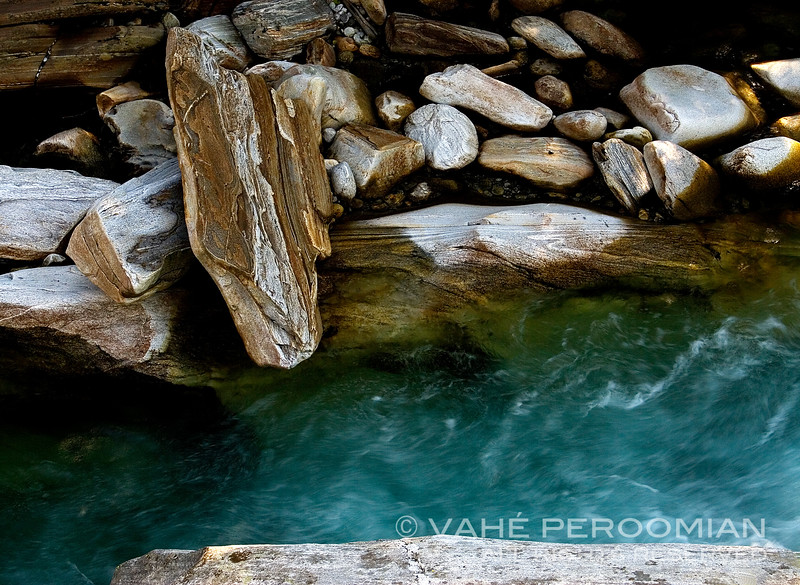 The Painted Rocks of Val Versasca