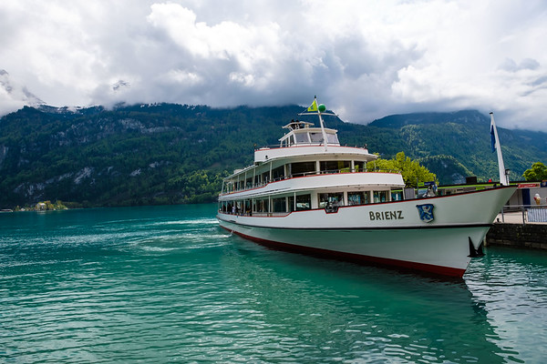 Ferry Stop at Brienz