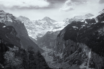 view from Overlook at Wengen