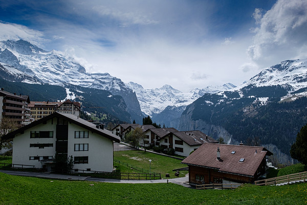 Murren and the Alps