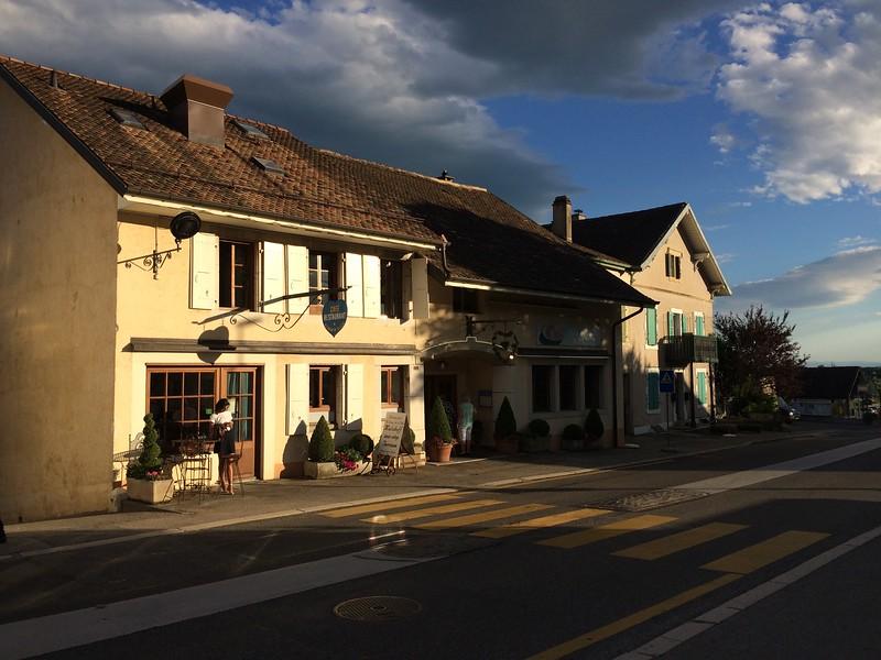 Restaurant Au Cœur de la Côté in Vinzel, Switzerland