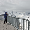 Beth admires the view from atop the Schilthorn.<br /> May 18, 2012