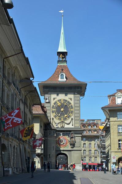 Clock Tower of Berne 1191-1250.