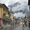 Grindelwald on a rainy day.<br /> May 23, 2012
