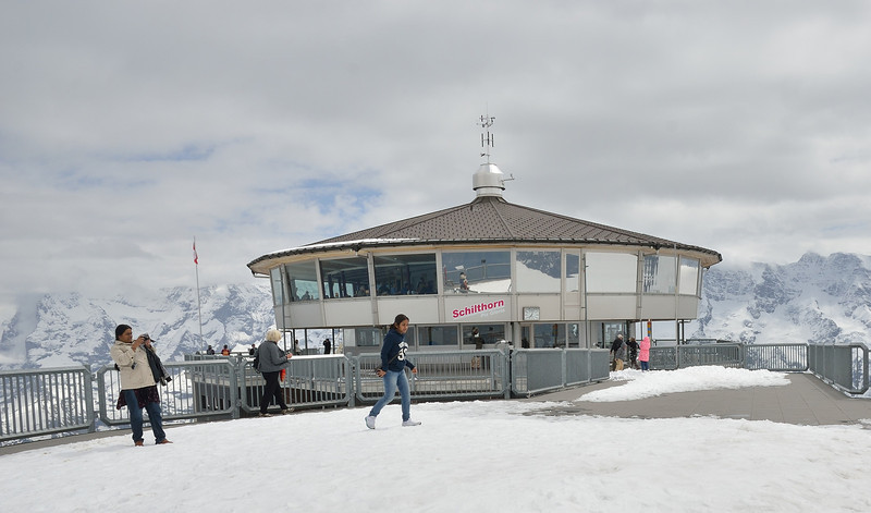 "Schilthorn - where the James Bond movie ""On Her Majesty's Secret Service"" was filmed."