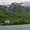 A chateau beside Lake Brienz.<br /> May 20, 2012