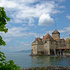 "Castle of Chillon, in Lake Geneva near Montreux.<br /> Original fortress built in the 9th century but current castle built in middle of the 13th century.  <br /> Lord Byron visited in 1816 and wrote the poem, ""The Prisoner of Chillon"".<br /> We visited Sunday, May 13, 2012"