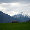 I walked from Netstal to Glarus on a pleasant afternoon.