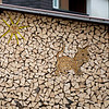 The Swiss take their firewood stacking seriously!