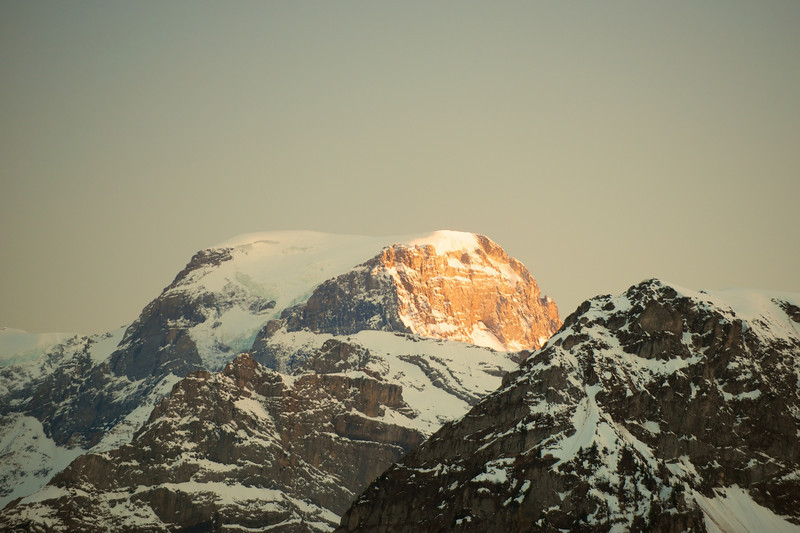 It was almost time to say goodbye to the Glarus Alps.