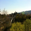 A view over the river Aare from the old city of Berne.