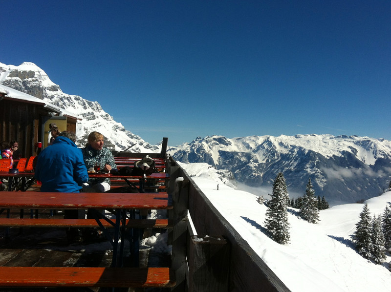 There is a nice restaurant at the top where a glass of wine is in order.