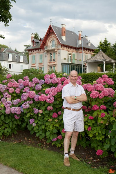 Richard in Évian-les-Bains.<br /> IMG_9452