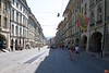 The Baroque facades along the Kramgasse ('Grocers Alley') in Bern.<br /> IMG_9412