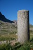 This post dates from Roman times on the Julier Pass. The Julier Pass is named after Julius Caesar, who once crossed this pass.<br /> IMG_9980