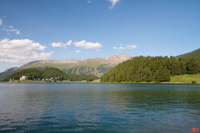 The resort town of St. Moritz.<br /> IMG_9956