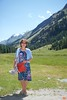 Rosa's mother in the valley outside Pontresina.<br /> IMG_9932