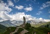 The 9-metre tall stone Eagle on the Simplon pass (elev: 2,005 metres) was unveiled in 1944. It faces into Italy.<br /> _MG_9759_HDR
