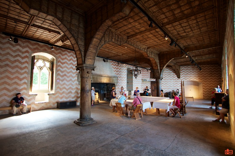 The Grand Hall of the Count at Château de Chillon.<br /> IMG_9489