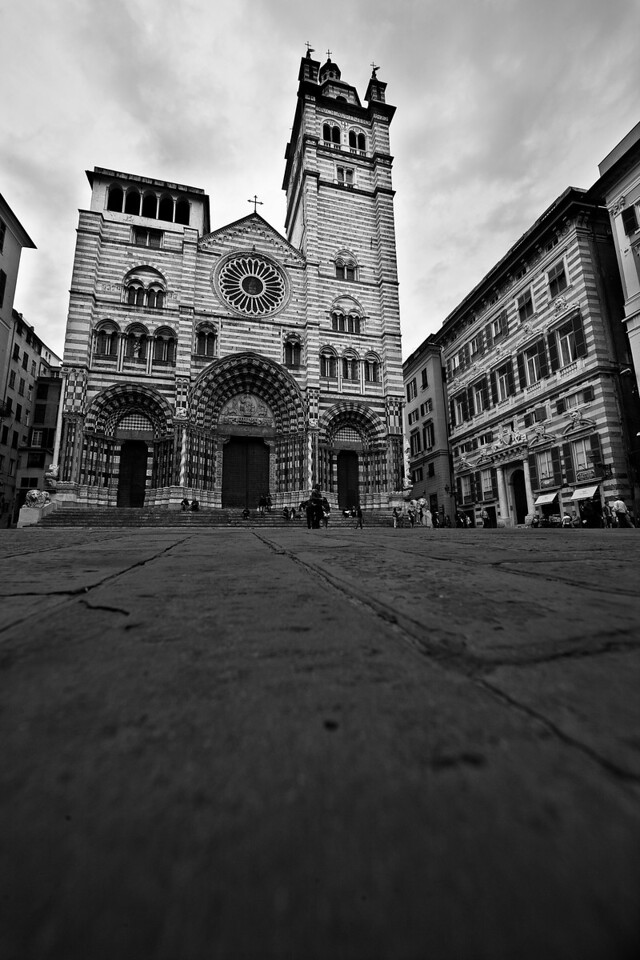 San Lorenzo Cathedral, Genoa.