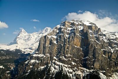 (L to R), Eiger, Mönch, Jungfrau