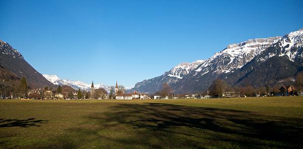 Interlaken, looking East.